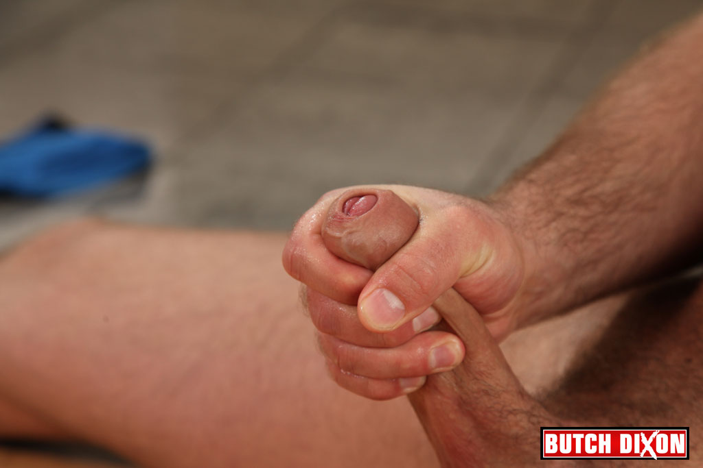 Butch-Dixon-Billy-Essex-Hairy-Cub-With-Big-Uncut-Cock-Jerking-Off-Amateur-Gay-Porn-16 Amateur Bisexual Young Hairy Cub Jerks Off His Huge Uncut Cock