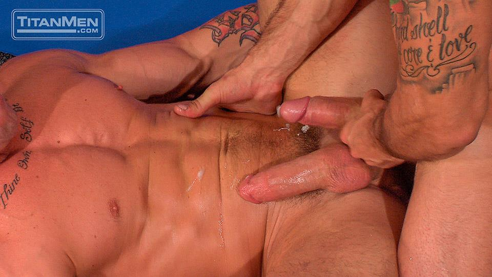 Titan-Men-Pounded-Scene-1-George-Ce-Trenton-Ducati-Muscle-Hunks-With-Big-Uncut-Cock-Fucking-Amateur-Gay-Porn-33 Muscle Hunk With A Thick Uncut Cock Fucks Another Muscle Hunk