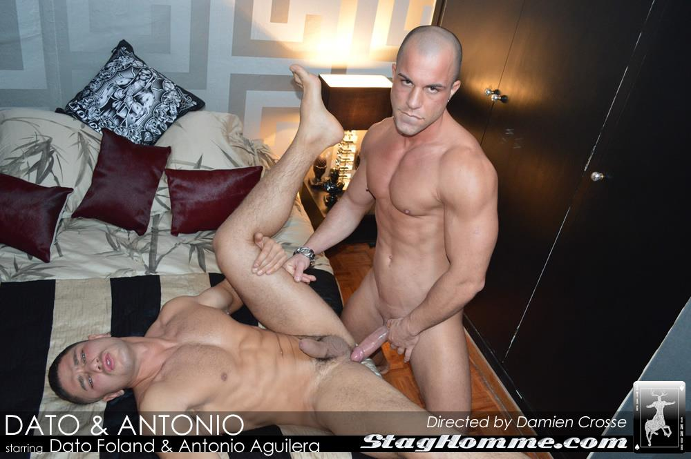 StagHomme-Studios-Dato-Foland-and-Antonio-Aguilera-Muscle-Hunks-With-Huge-Uncut-Cocks-Fucking-Amateur-Gay-Porn-14 Dato Foland & Antonio Aguilera Masculine Muscle Hunks Fucking