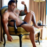 Men-of-Montreal-Emilio-Calabria-Italian-Hunk-With-A-Big-Thick-Uncut-Cock-Amateur-Gay-Porn-06-150x150 Beefy Italian Body Guard Stroking His Big Thick Uncut Cock