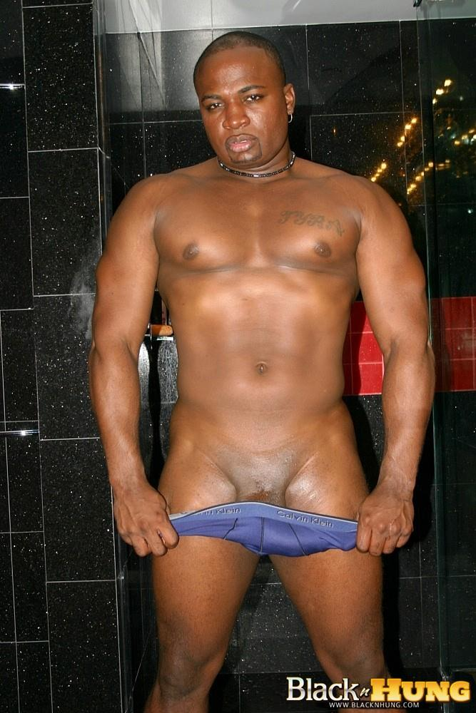 Black-N-Hung-D-Total-Package-Black-Muscle-Thug-Jerking-His-Thick-Black-Cock-Amateur-Gay-Porn-10 Black Muscle Thug Jerking Off His Thick Black Cock