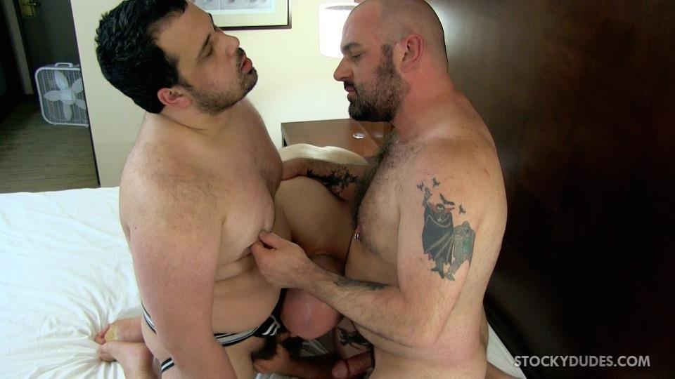 Stocky gay porn
