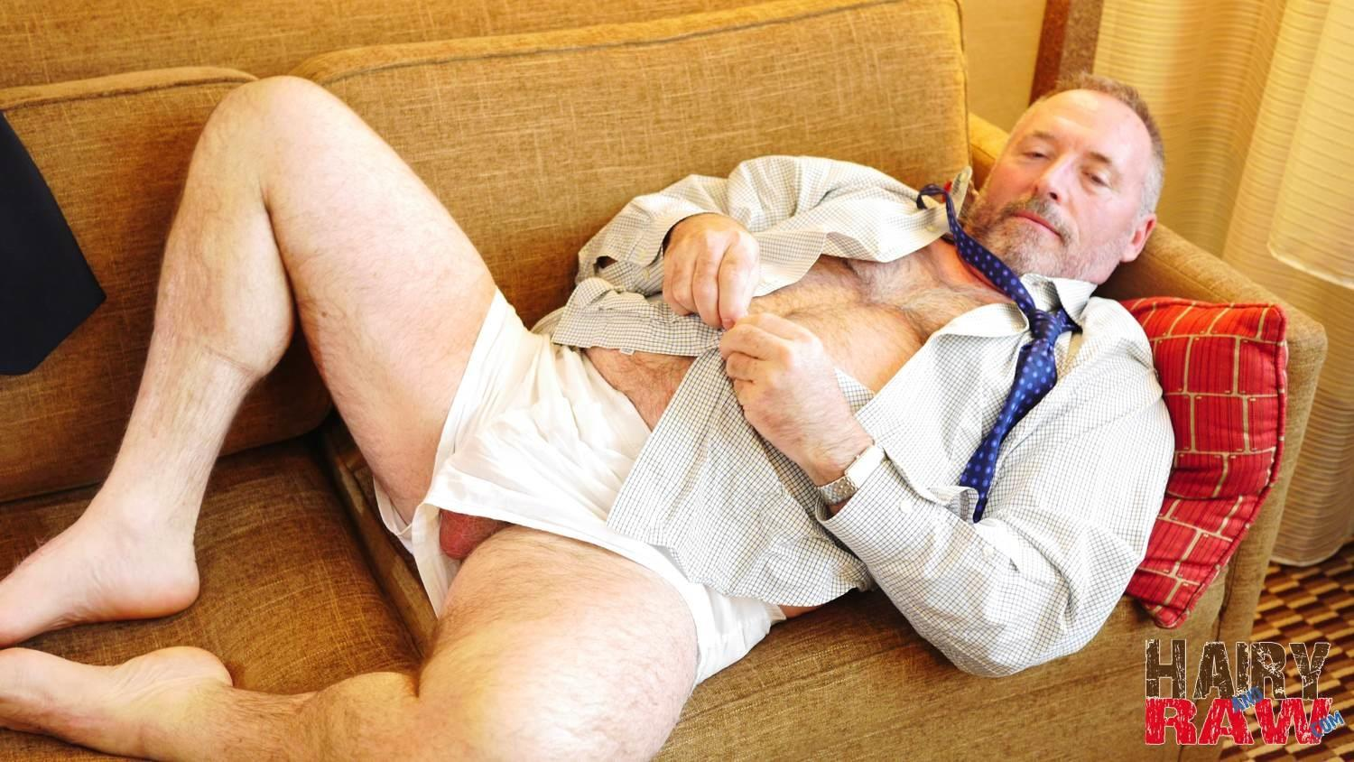 Hairy-and-Raw-Bo-Francis-Suited-Chubby-Hairy-Daddy-Jerking-Off-Thick-Cock-Twink-Jerking-Off-And-Eating-His-Own-Cum-Amateur-Gay-Porn-06 Suit and Tie Hairy Chubby Businessman Jerking His Hairy Cock