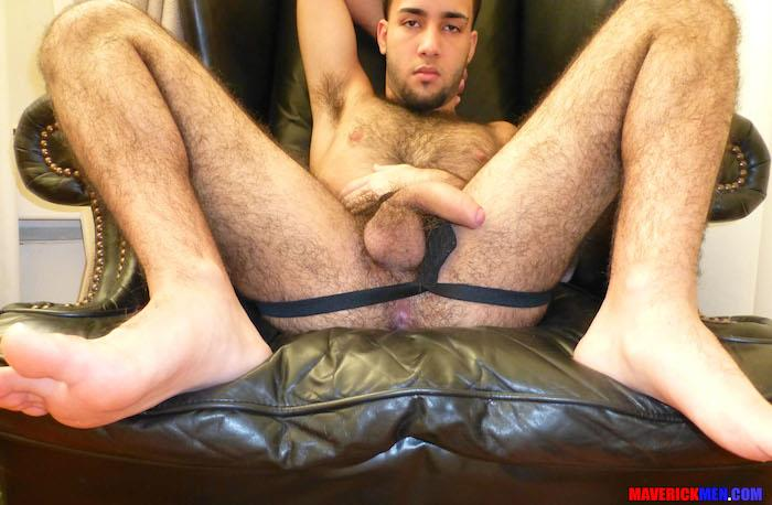 Maverick Men Little Wolf Hairy Guy With Big Uncut Cock Getting Barebacked By Two Daddies Gay Porn 11 Hairy Ass Young Guy Getting Barebacked By The Maverick Men