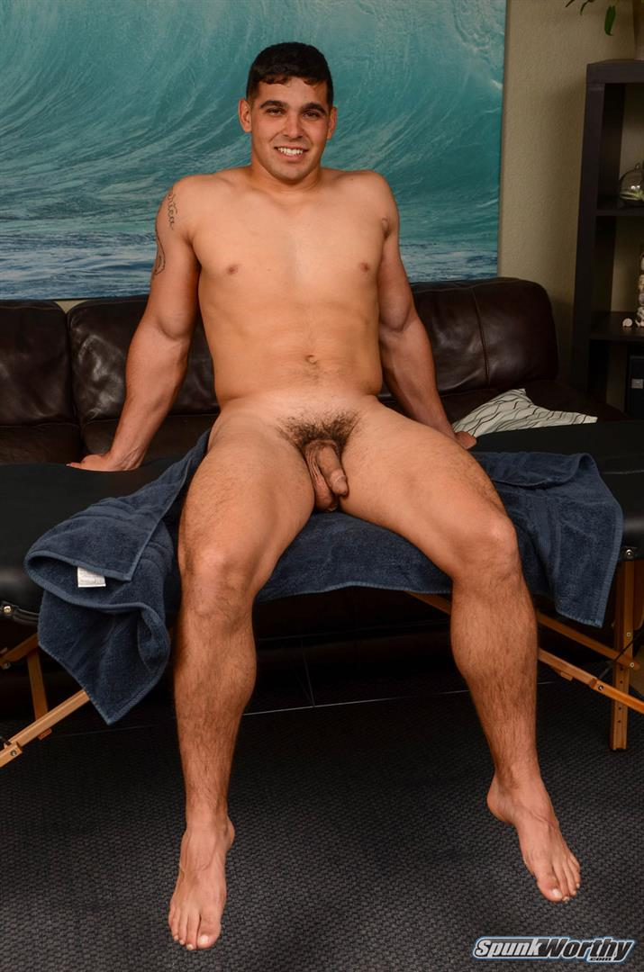 SpunkWorthy Colt Beefy Naked Marine Gets Handjob From A Guy Amateur Gay Porn 03 Straight Beefy US Marine Gets His First Handjob From A Guy