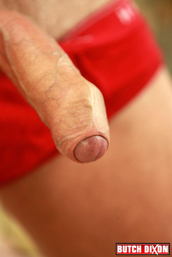 "Butch-Dixon-Big-T-British-Muscle-Daddy-With-A-Big-Uncut-Cock-Amateur-Gay-Porn-18 British Muscle Daddy Jerking Off His Big 9"" Uncut Cock"