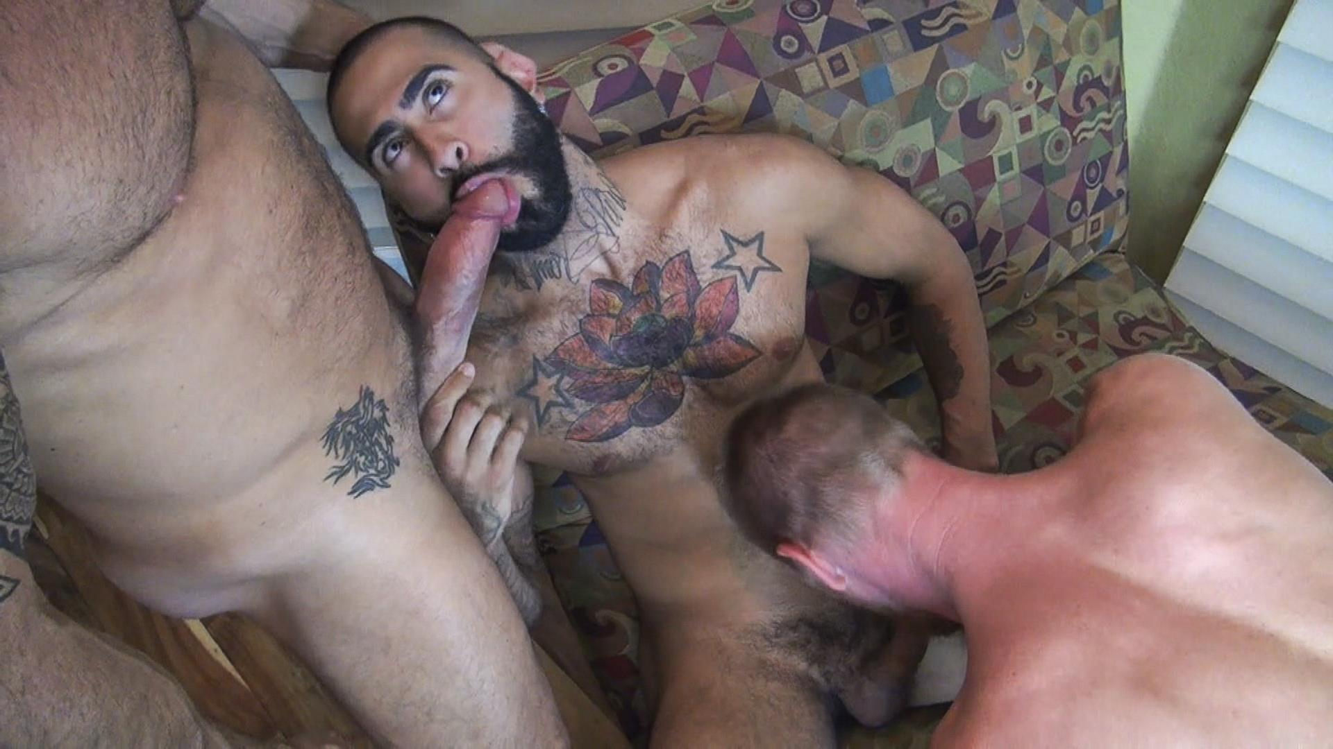 Raw Fuck Club Vic Rocco and Rikk York and Billy Warren and Job Galt Bareback Daddy Amateur Gay Porn 05 Four Hairy Muscle Daddies In A Bareback Fuck Fest Orgy