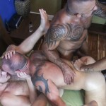 Raw-Fuck-Club-Vic-Rocco-and-Rikk-York-and-Billy-Warren-and-Job-Galt-Bareback-Daddy-Amateur-Gay-Porn-11-150x150 Four Hairy Muscle Daddies In A Bareback Fuck Fest Orgy
