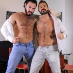 Hardkinks Jessy Ares and Martin Mazza Hairy Alpha Male Amateur Gay Porn 15 150x150 Hairy Muscle Alpha Male Dominates His Coworker