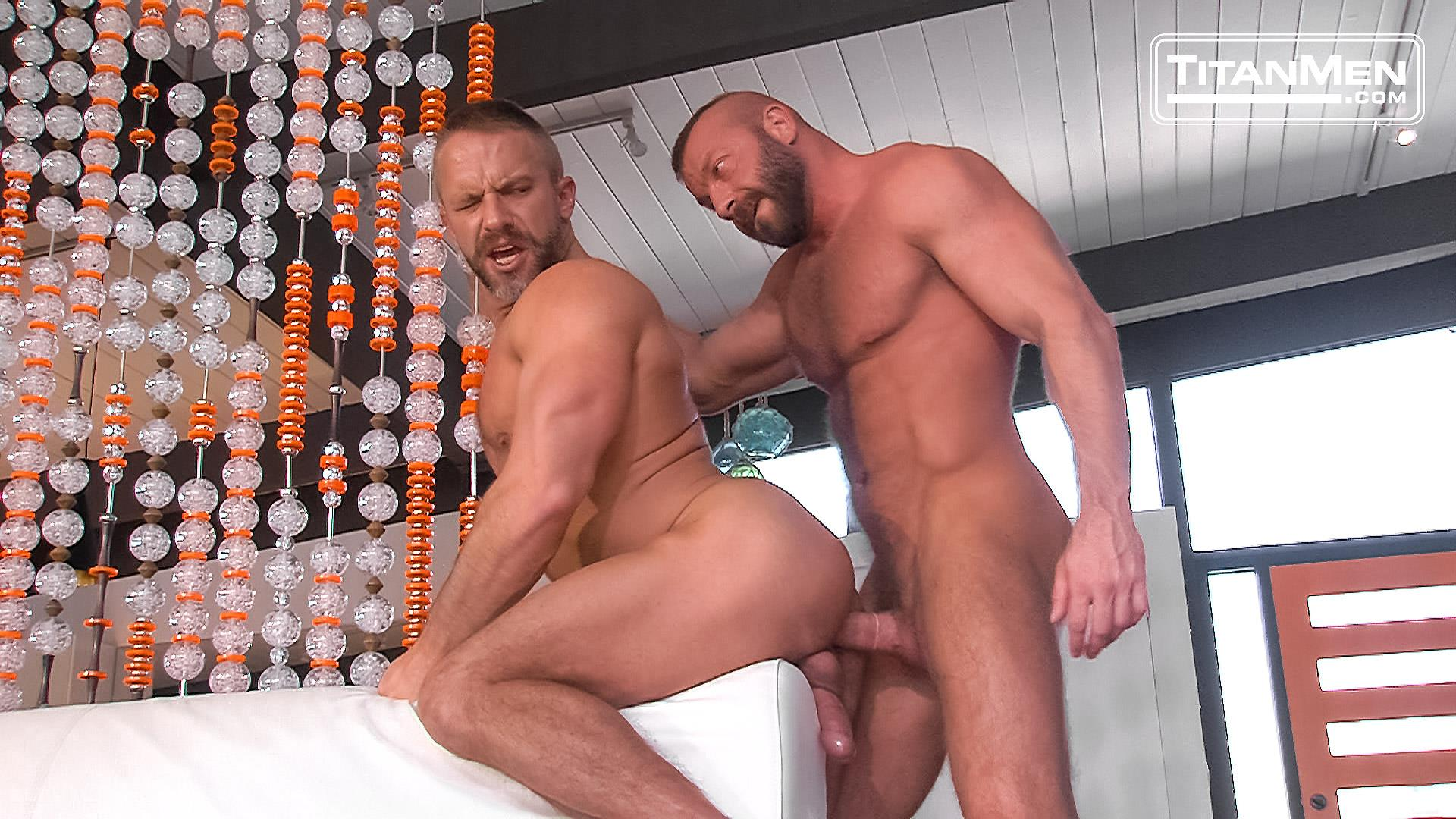 Titanmen-Titan-Hunter-Marx-and-Dirk-Caber-Hairy-Muscle-Daddy-Fuck-Amateur-Gay-Porn-34 Dirk Carber Gets Fucked Hard By Another Muscle Daddy With A Thick Cock