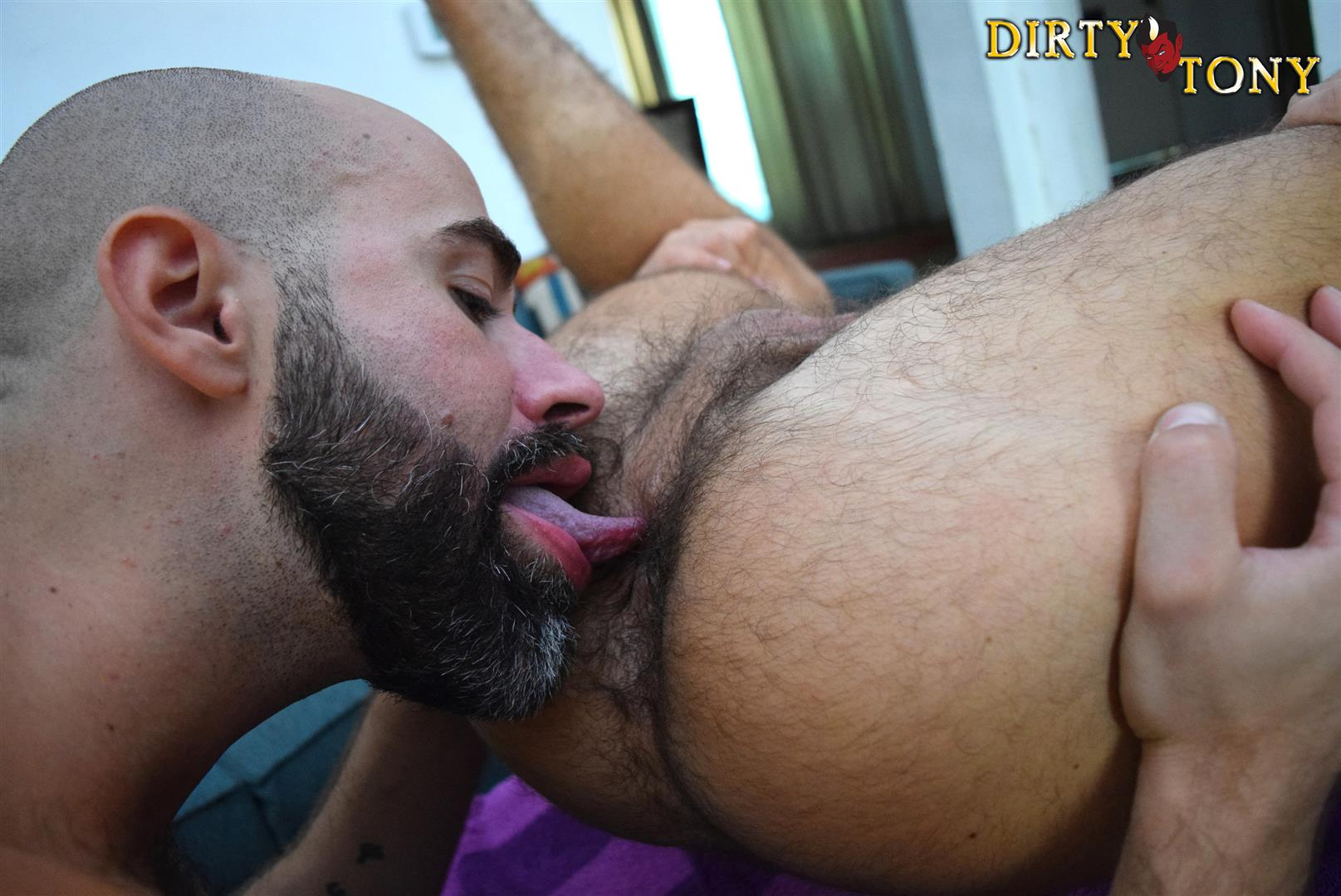Dirty Tony Damon Andros and Aarin Asker Bareback Sex Video Amateur Gay Porn 03 Damon Andros Dominating Sub Aarin Asker Bareback