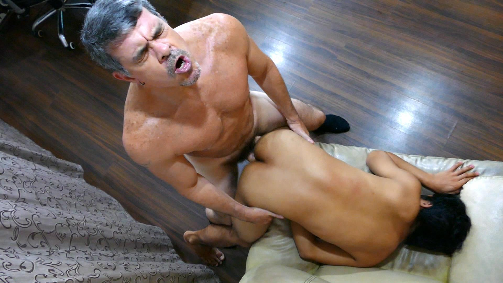 Daddys-Asians-Asian-Twink-Gets-Barebacked-By-Daddy-24 Daddy Breeds An Asian Boy Ass During A Job Interview