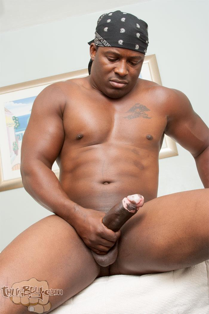 Thug-Boy-Danger-Naked-College-Football-Player-Jerking-off-His-Big-Black-Uncut-Cock-14 Former College Football Player Jerking His Big Black Uncut Horse Cock