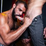 Raging-Stallion-Drake-Masters-and-James-Stevens-hairy-guys-cum-facial-08-150x150 Hairy Muscle Bear Drake Masters and Otter James Stevens Swap Cum Facials